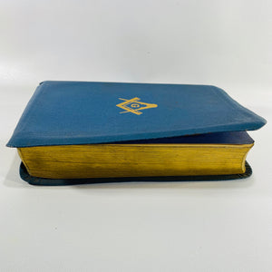 Masonic EditionTemple Edition Pronouncing the Holy Bible the Great Light in Masonry 1957