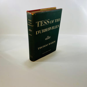 Tess of the D'Urbervilles by Thomas Hardy 1950-Reading Vintage A Harper's Modern Classic Book