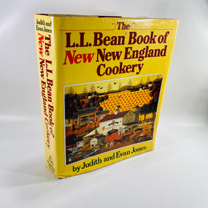 L.L. Bean Book of New New England Cookery by Judith Jones 1987