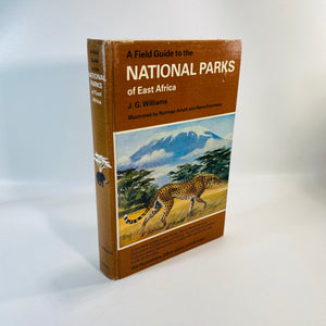 National Parks of East Africa by J.G. Williams 1981-Reading Vintage