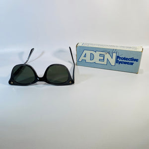 Aden Safety Glasses Protective Eyewear with Box-Reading Vintage