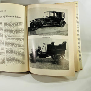 The Boy's Book of Veteran Cars by Ernest F. Carter 1959