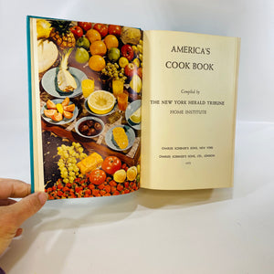 American Cookbook the Herald Tribune Home Institute 1952-Reading Vintage