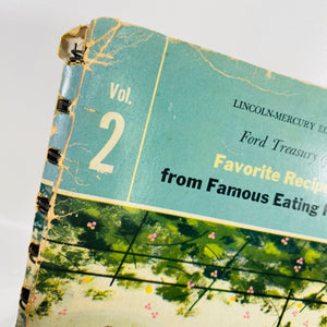 Ford Treasury of Favorite Recipes from Famous Eating Places Vol. 2 by Nancy Kennedy 1954