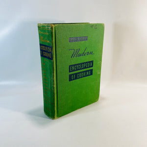 Meta Givens Modern Encyclopedia of Cooking Vol 2 1949-Reading Vingtage