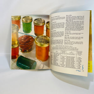 Ball Blue Book Home Canning Freezing Recipes 26-B 1956-Reading Vintage