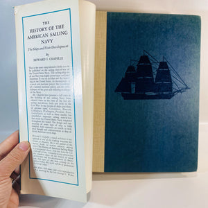 The American Sailing Navy by Howard Chapelle 1949-Reading Vintage