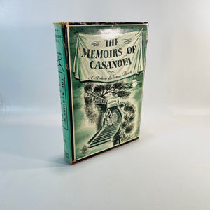 The Memoirs of Casanova 1929 A Modern Library Book-Reading Vintage