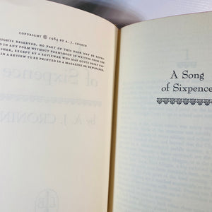 A Song of Sixpence by A.J. Cronin 1964