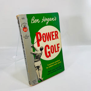 Ben Hogan's Power Golf 1948 Vintage Paperback Book-Reading Vintage