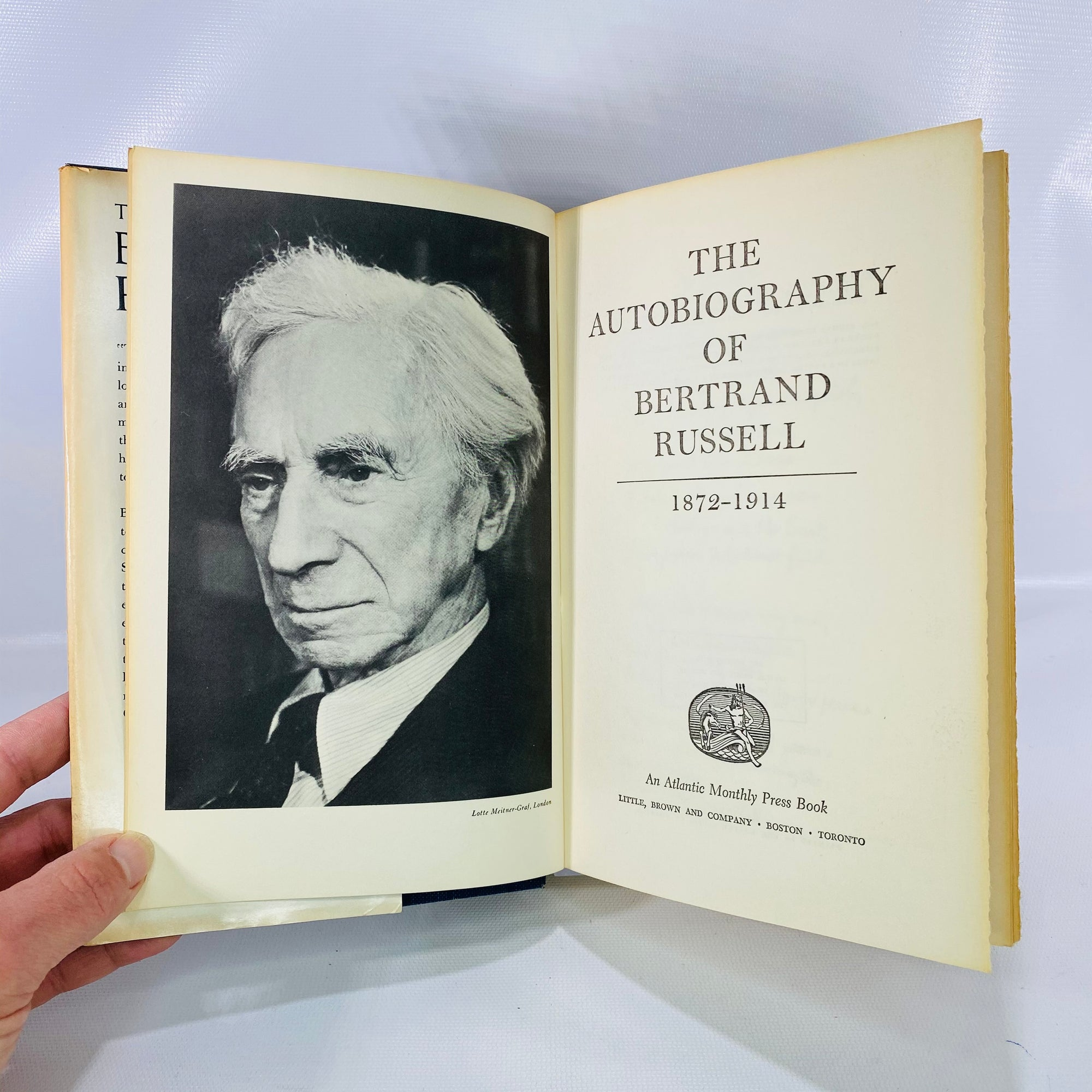 The Autobiography of Bertrand Russell 1956-Reading Vintage