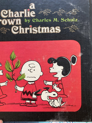 A Charlie Brown Christmas by Charles M. Schulz 1965-Reading Vintage