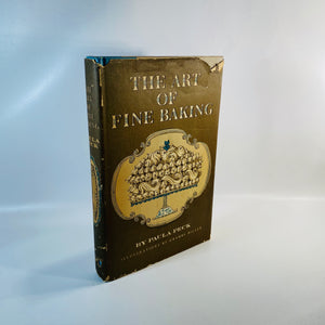 The Fine Art of Baking by Paula Peck 1961-Reading Vintage
