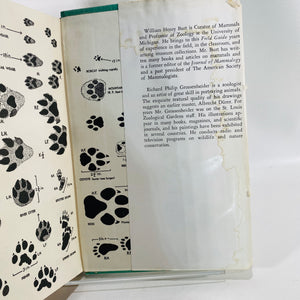 A Field Guide to the Mammals by William Burt 1964-Reading Vintage]