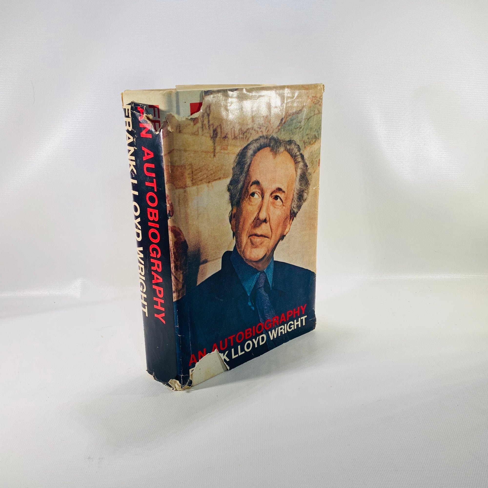 An Autobiography Frank Lloyd Wright 1977-Reading Vintage