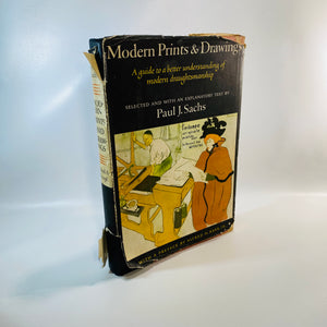 Modern Prints & Drawings by Paul Sachs 1954 First Ed.-Reading Vintage
