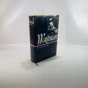 Whitman Poetry & Prose of Walt Whitman 1982-Reading Vintage