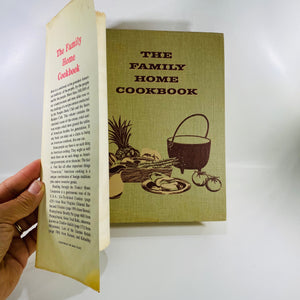 Family Home Cookbook by Culinary Arts Institute 1963-Reading Vintage