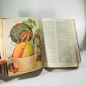 The World Authority The New Larousse Gastronomique  by Prosper Montagne 1961