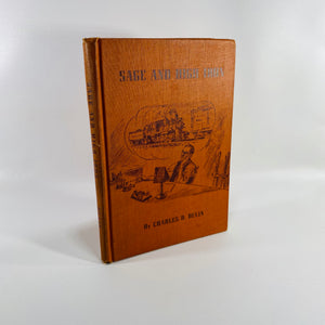 Sage and High Iron by Charles D. Dulin 1951 A Book of Railroad Poems