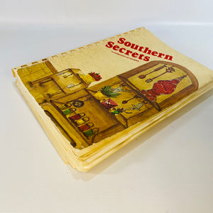 Southern Secrets a collection of recipes Published by The Episcopal Day School Mothers Club Jackson Tennessee 1981