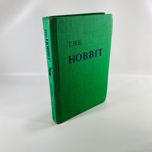 The Hobbit J.J.R. Tolkien illustrated by the Author 1966-Reading Vintage