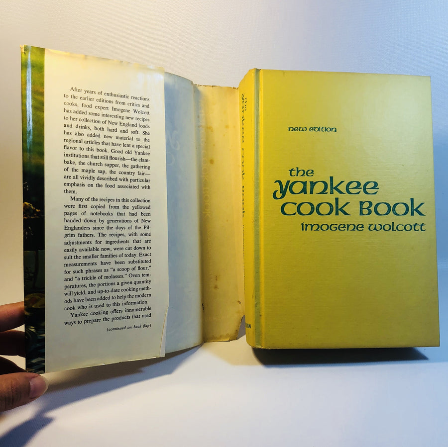 The Yankee Cook Book by Imogene Wolcott 1971 Revised Edition