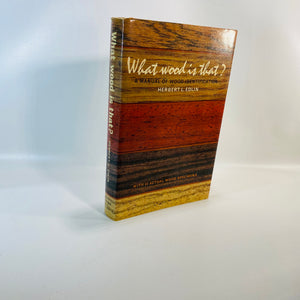 What Wood is That? A Manual by Herbert Edlin 1969-Reading Vintage