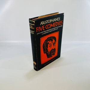 Aristophanes Five Comedies 1948 The Living Library-Reading Vintage