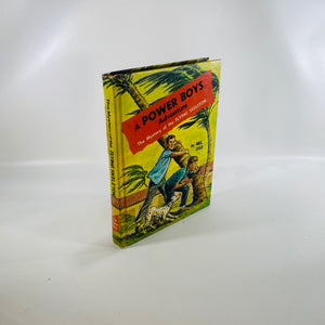 Mystery of the Flying Skeleton by Mel Lyle 1964 Power Boys Adventure-Reading Vintage