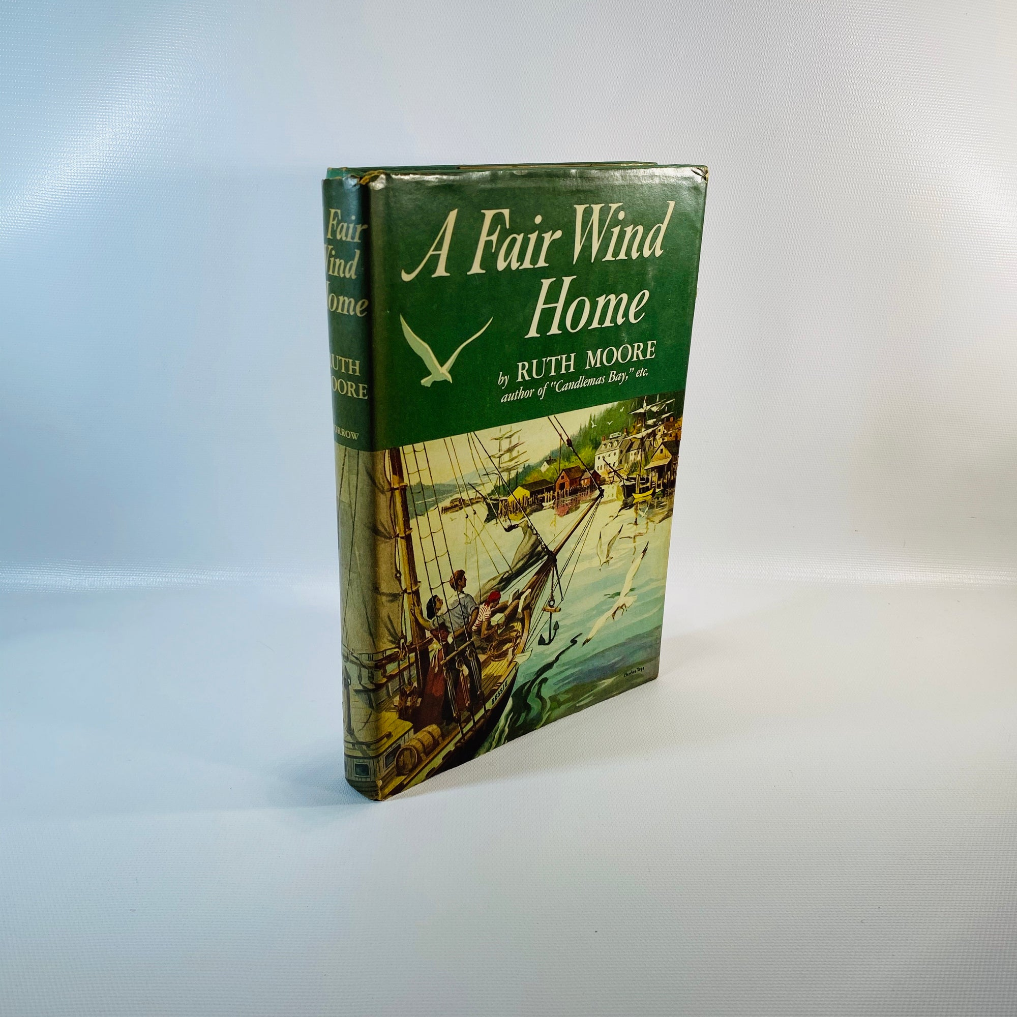 A Fair Wind Home by Ruth Moore 1953-Reading Vintage
