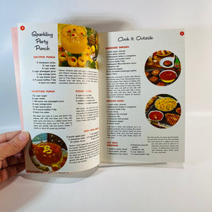 2 Vintage 7-Up Pamphlets featuring Recipes using 7-up 1960's