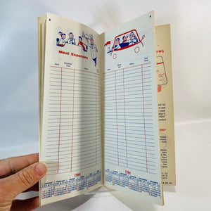 Adventure Road Touring  Information and Expense Record by Standard American Oil Company 1962