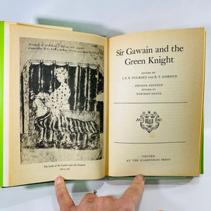 Sir Gawain & the Green Knight Edtd by JRR Tolkien 1977-Reading Vintage