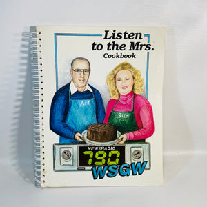 Listen to the Mrs. Cookbook April 1994 published by WSGW 790 Call in Radio Show