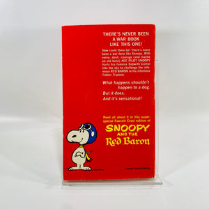 Snoopy and the Red Baron by Charles M. Schulz 1967 A Vintage Paperback