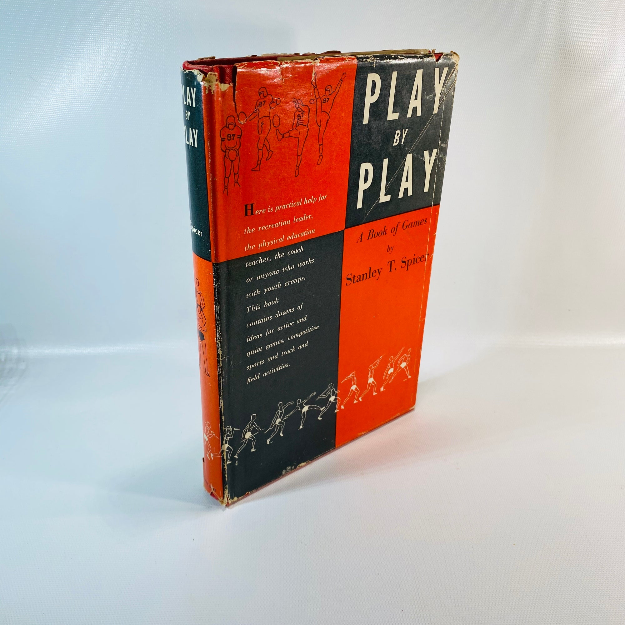 Play by Play Games Stanley Spicer 1955 First Edition-Reading Vintage