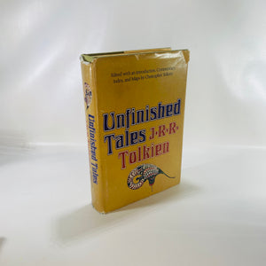 Unfinished Tales by J.R.R. Tolkien 1980-Reading Vintage