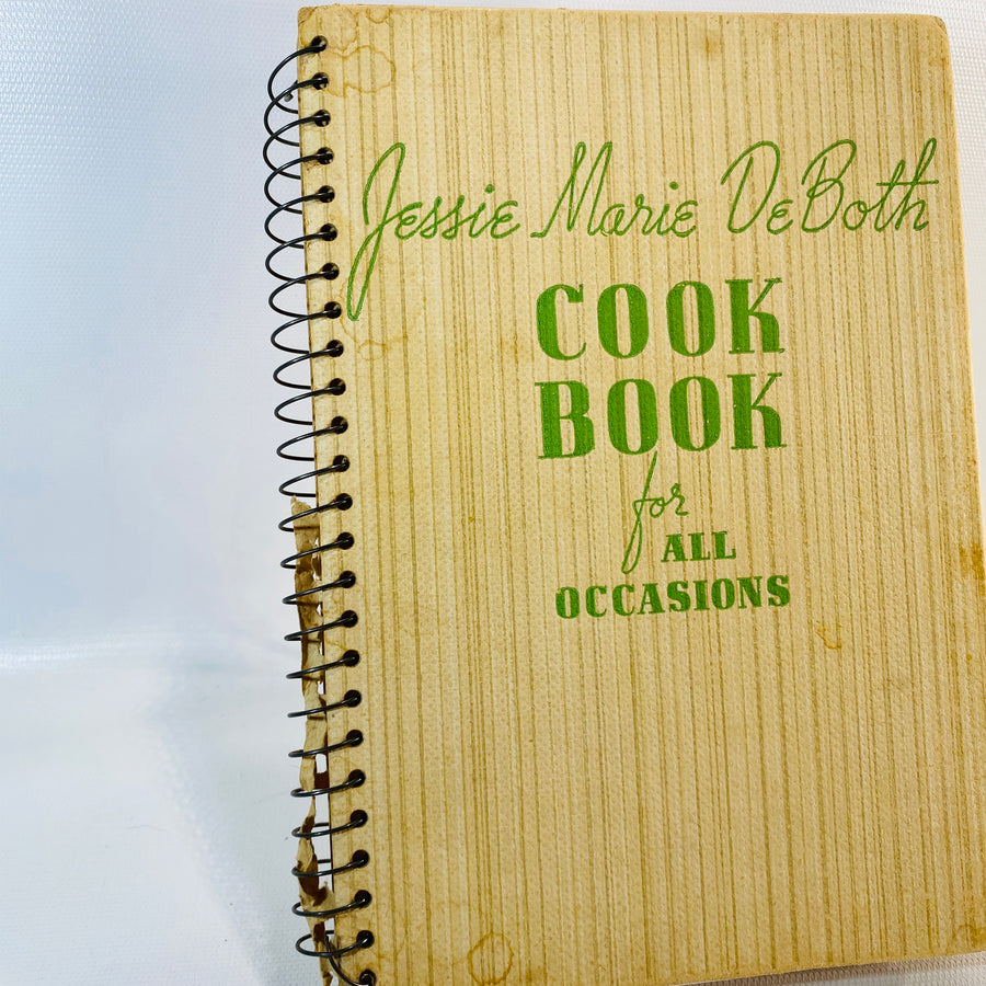 Jessie Marie DeBoth Cookbook for All Occasions