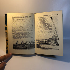 Tom Swift and His Rocket Ship by Victor Appleton  with Original Dust Jacket 1954