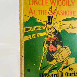 Uncle Wiggly at the Seashore by Howard Garis 1915-Reading Vintage