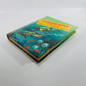 Mystery of the Burning Ocean by Mel Lyle 1965 A Power Boys Adventure-Reading Vintage