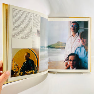 Book of Portrait Photography by Jorge Lewinski 1982-Reading Vintage