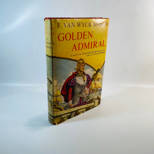 Golden Admiral by F. Van Wyck Mason 1953-Reading Vintage'
