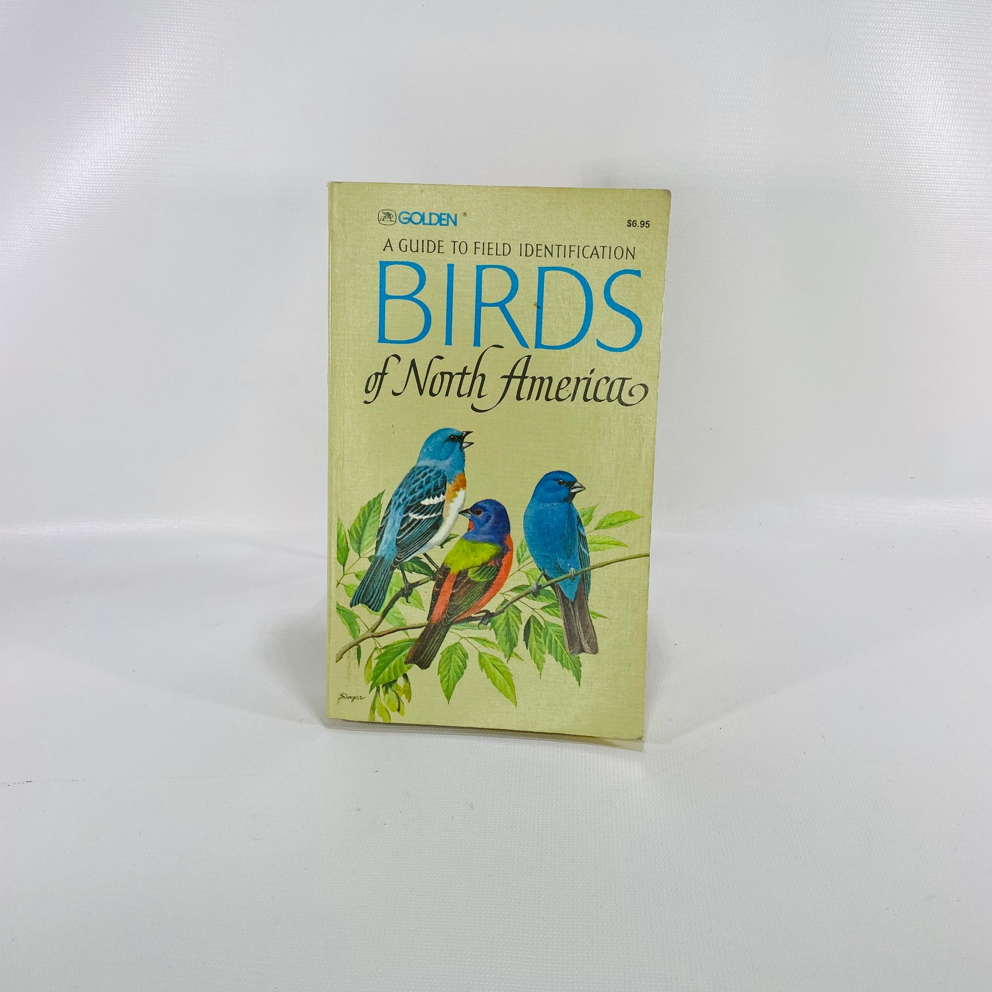 Identification Birds of North America by C Robbins 1966-Reading Vintage