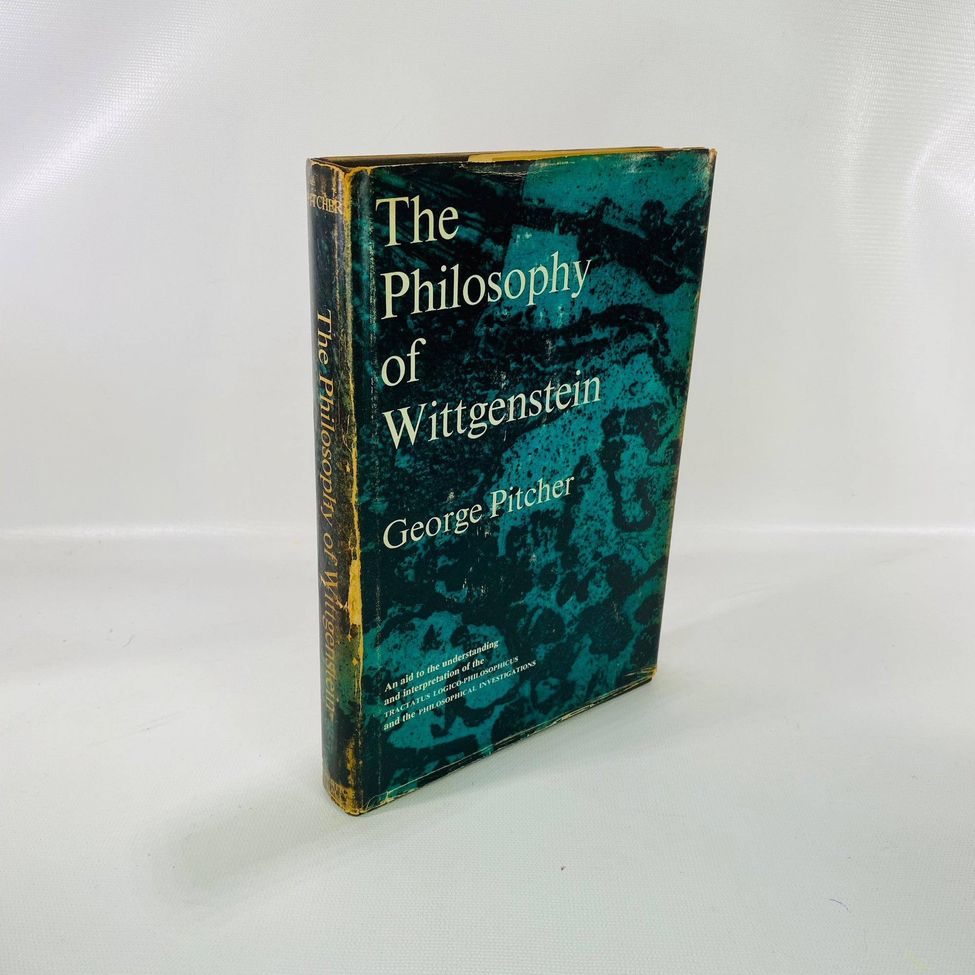 The of Philosophy Wittgenstein by George Pitcher 1964-Reading Vintage