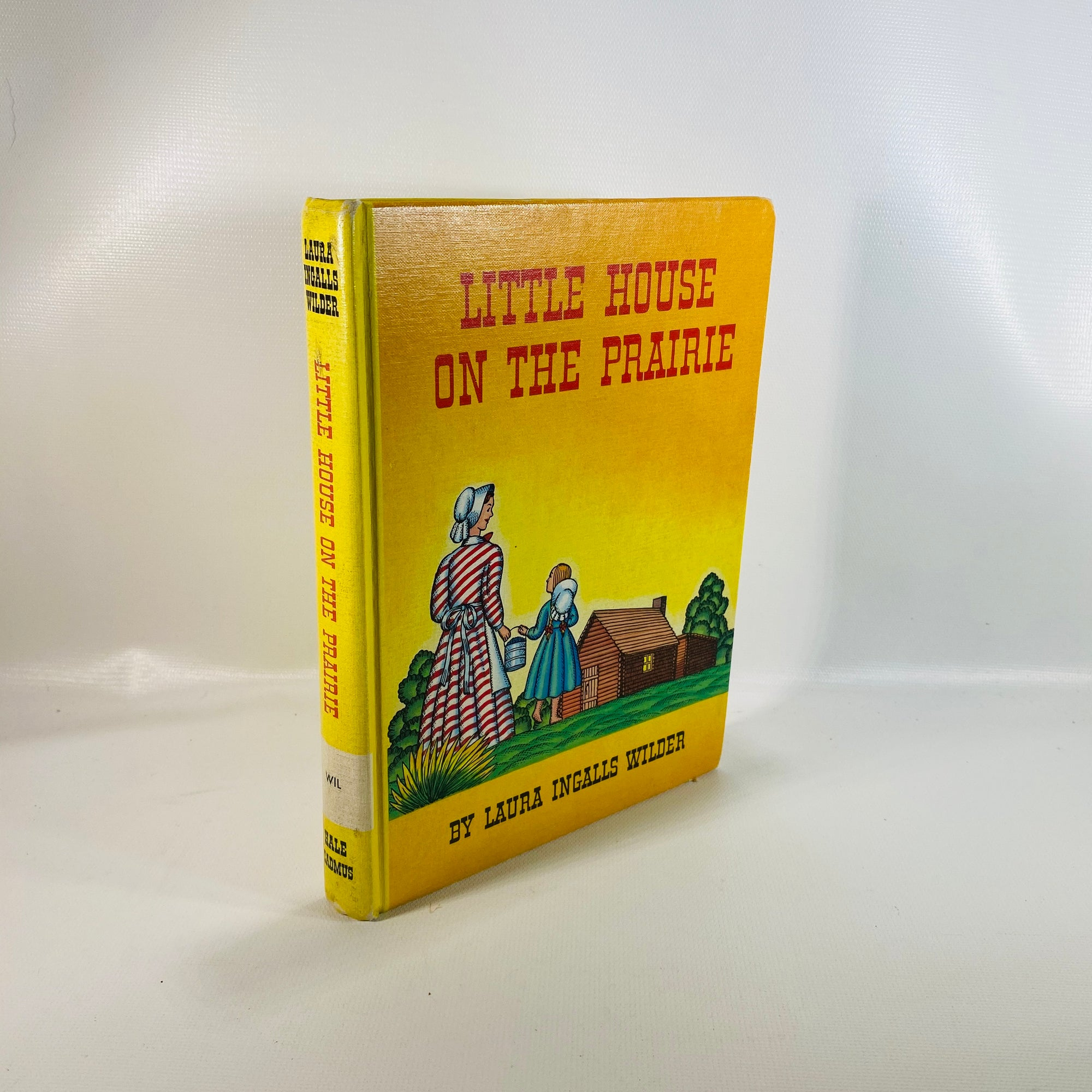 Little House on the Prairie by Laura Ingalls Wilder 1935-Reading Vintage