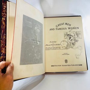 Great Men and Famous Women Volume Five 1894-Reading Vintage