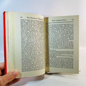 Moral Discourse by Epictetus 1955 No.404-Reading Vintage Everyman's Library