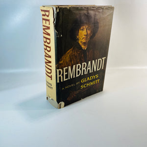 Rembrandt A Novel by Gladys Schmitt 1961-Reading Vintage